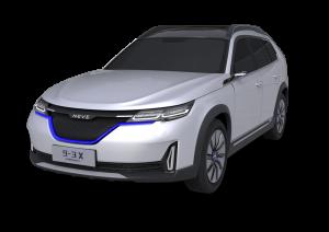 nevs 9-3x concept front