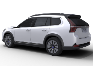 nevs 9-3x concept rear